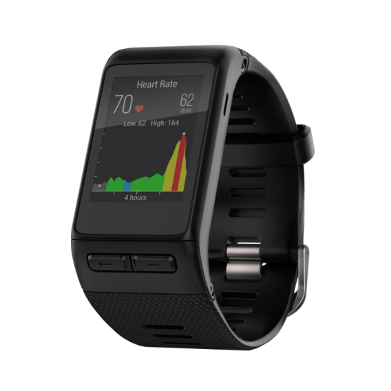 Garmin Vivoactive HR Black Extra Large