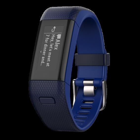 Garmin Vivosmart HR+ Blue Regular
