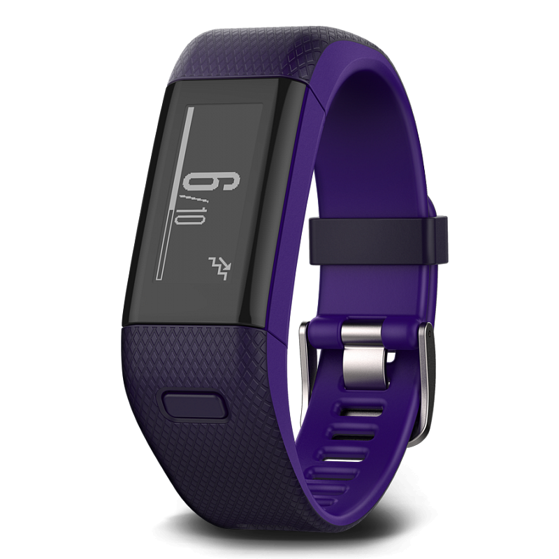 Garmin Vivosmart HR+ Purple Regular