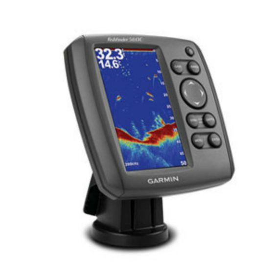Garmin Fishfinder 560C с трансдьюсером