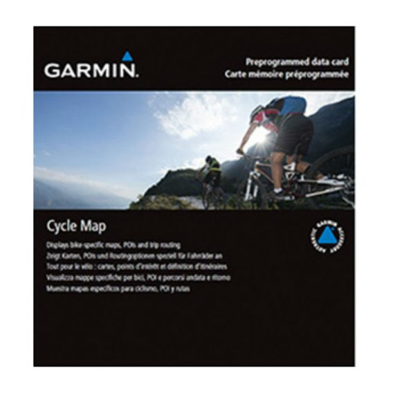 Garmin cycle map